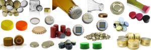 Il y a un ensemble de Capsules de différentes types en plusieurs couleurs, ainsi que des bouchons couronnes des bouteilles de tout genre.